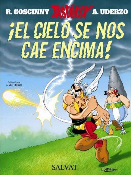 Astérix ¡El cielo se nos cae encima! ~ xonxoworld