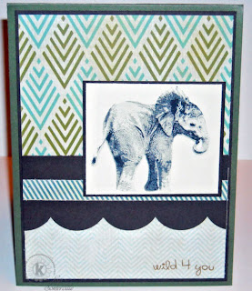 Kitchen Sink Stamps Multi Step 'Lil Elephant