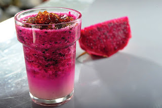 Dragon Fruit Juice with Honey Recipes