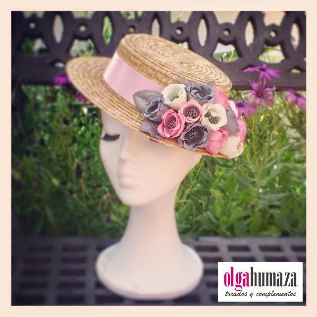 http://olgahumaza.blogspot.com.es/2014/05/b27-tocado-mini-canotier-natural-flores.html
