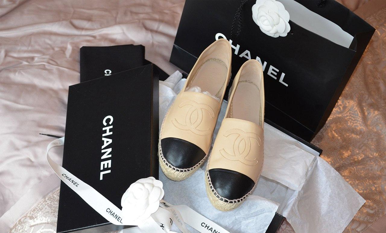 Personal Shopper s notes  Authentic Chanel Espadrilles VS Fake c3755aa0e