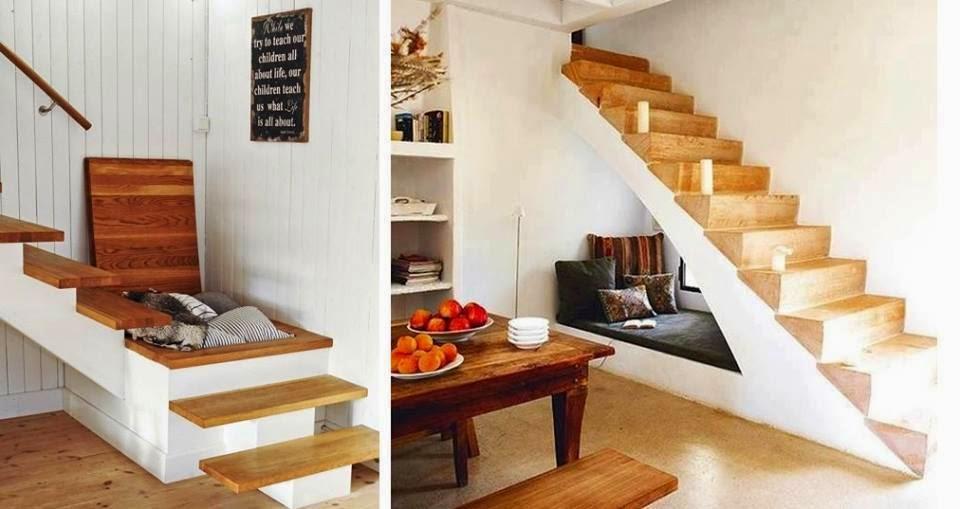 Practicas escaleras para guardar cosas | De todo un poco