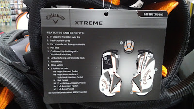 Callaway Xtreme Stand Bag is light weight and easy to carry