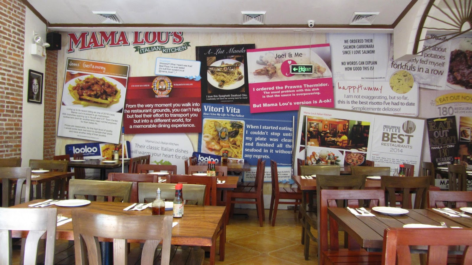 Mama Lou\'s Italian Kitchen at UP Town Center | walkandeat