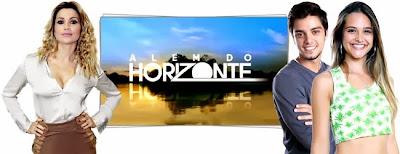 Logo da Novela Além do Horizonte