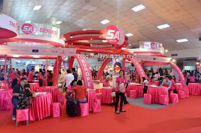 SA Tours Malaysia Matta Fair
