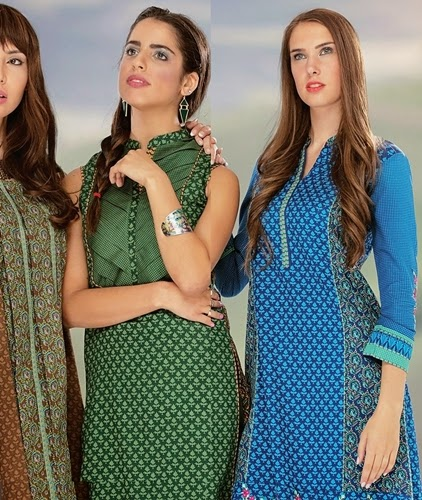 Orient Fall-Winter Khaddar 2014-2015