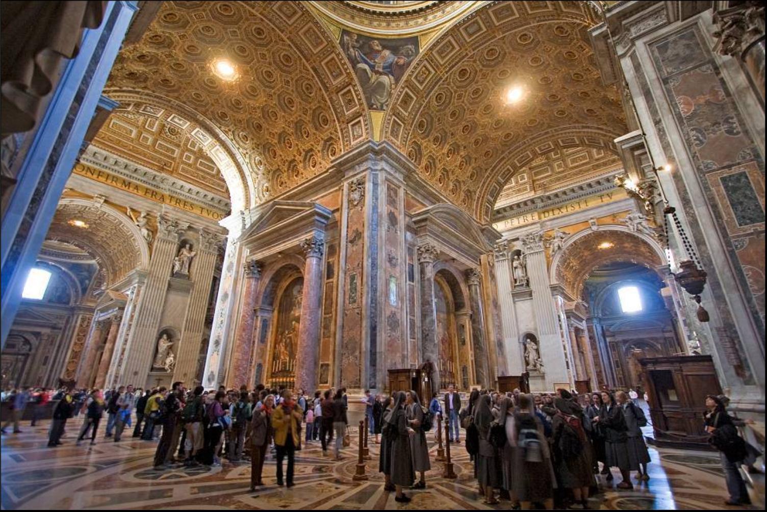 De tout et du reste basilique saint pierre for Exterieur basilique saint pierre