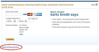 Sign Up PayPal