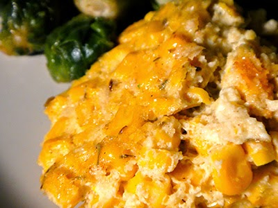 Crab & Corn Pudding