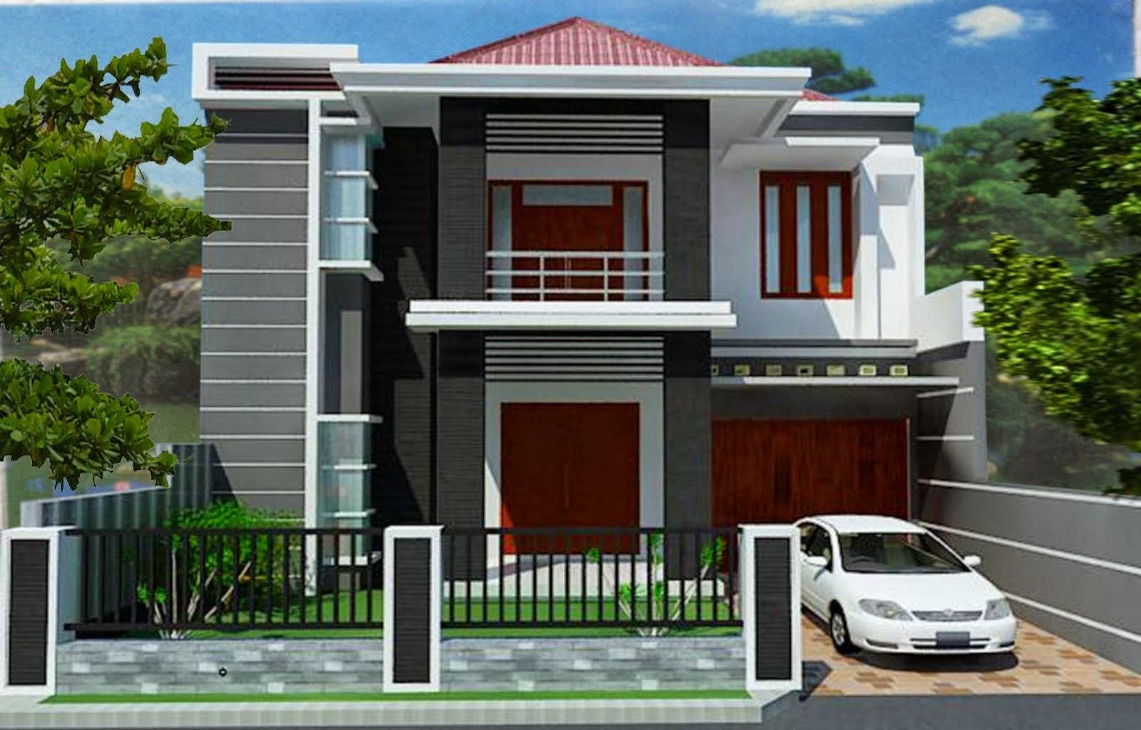 Desain Rumah Minimalis 2 Lantai Terbaru | 1001+ Desain Rumah Minimalis ...