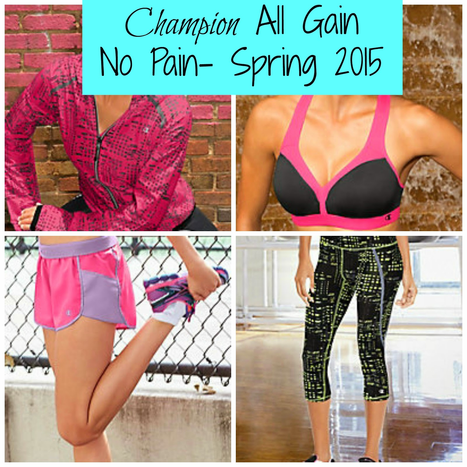 Champion All Gain, No Pain Line Spring 2015