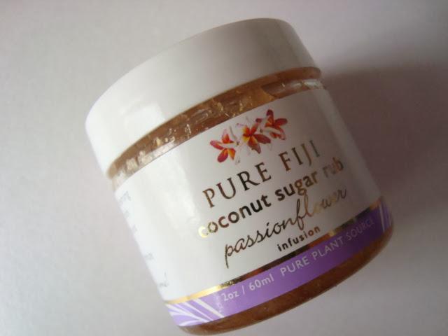 Pure Fiji Cukrowy scrub Passiflora - opinia
