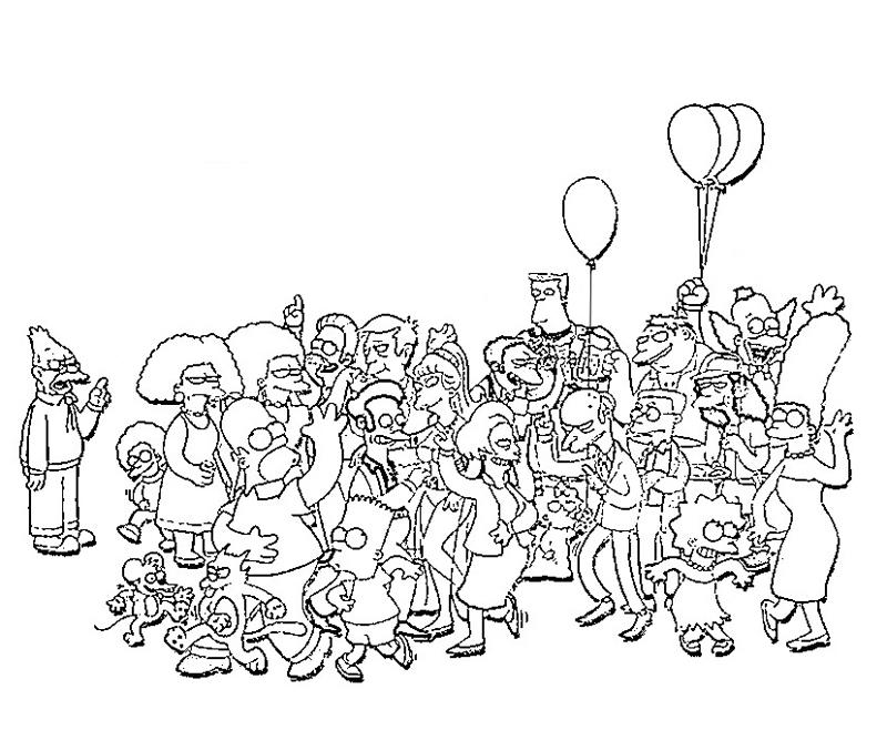 printable-simpsons-characters_coloring-pages