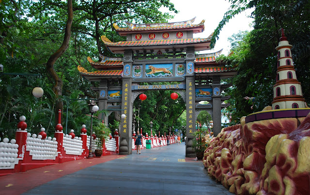 Haw Par Villa in Singapore