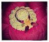 Broche Sombrero Ganchillo
