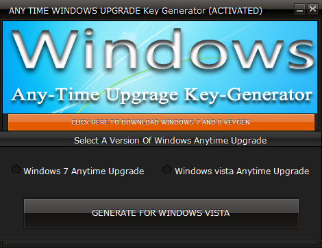 windows vista ultimate anytime upgrade product key