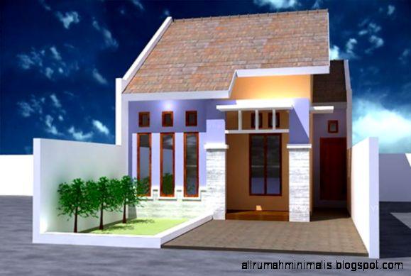 Bentuk Rumah Minimalis Ukuran Kecil   Gambar Rumah