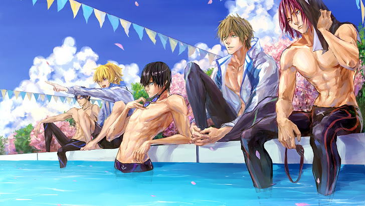 Anime Free! Swim Club