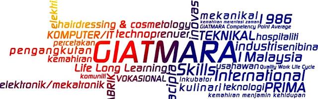 Senarai Kursus & Lokasi Pusat Kemahiran GIATMARA