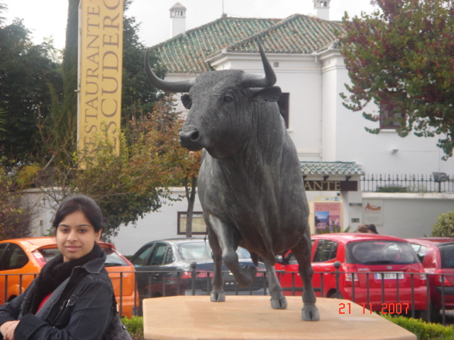 Bull Ring at Ronda, Spain