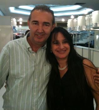 Pr. Rogério Dantas (Salvador) e Marta Lança