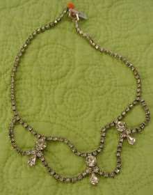 Newburyport Like So Pretty LikeSoPretty.com Rhinestone Necklace