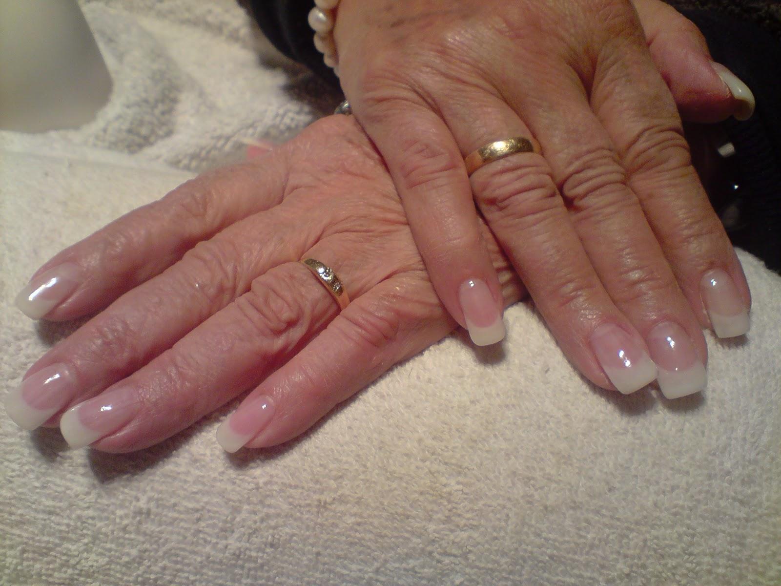 Judith d 39 cora tus u as decoracion manicura francesa en gel - Decoracion de unas francesa ...