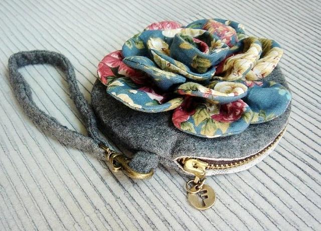 Vintage flower purse tutorial diy tutorial ideas