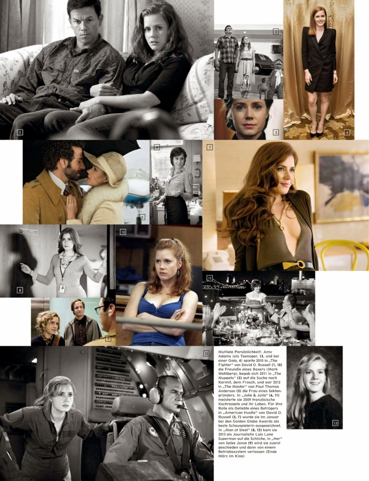 Amy Adams HQ Pictures Interview Germany Magazine Photoshoot March 2014