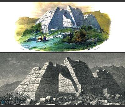 Οι πυραμίδες στην Ελλάδα είναι οι αρχαιότερες της Ευρώπης. Τι αναφέρει ο Παυσανίας και ποια η χρήση τους