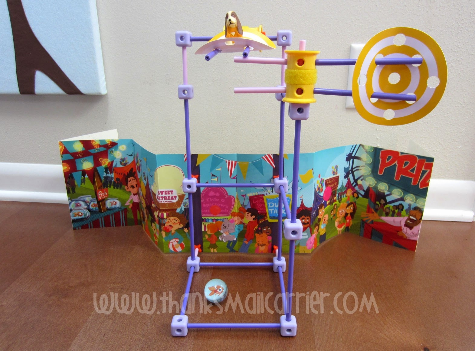 GoldieBlox and the Dunk Tank review