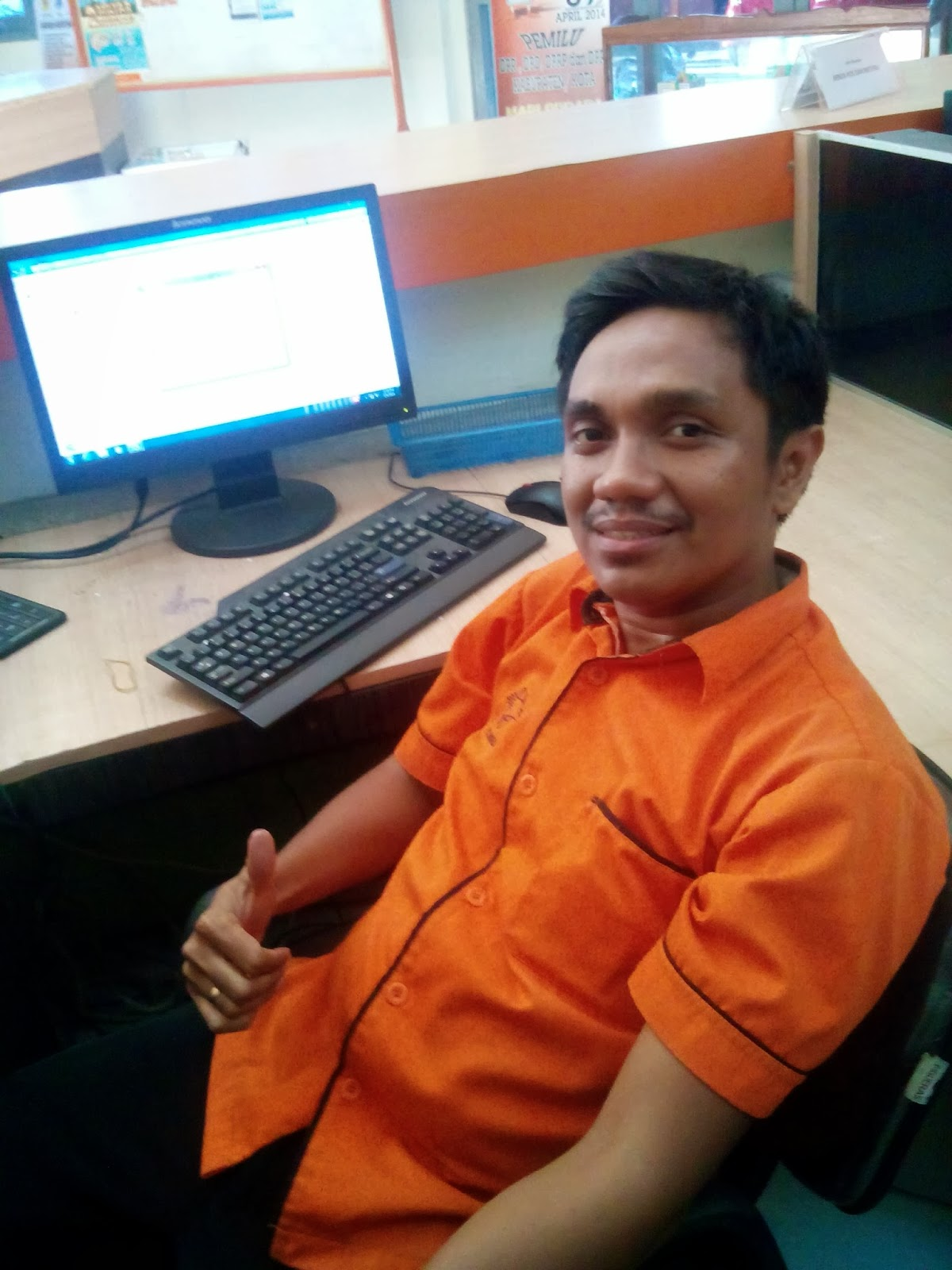 Loket Kantor Pos Jayapura