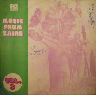 Music from Zaïre, vol.3 - Various Artists,Soundpoint / Afrodisia 1983