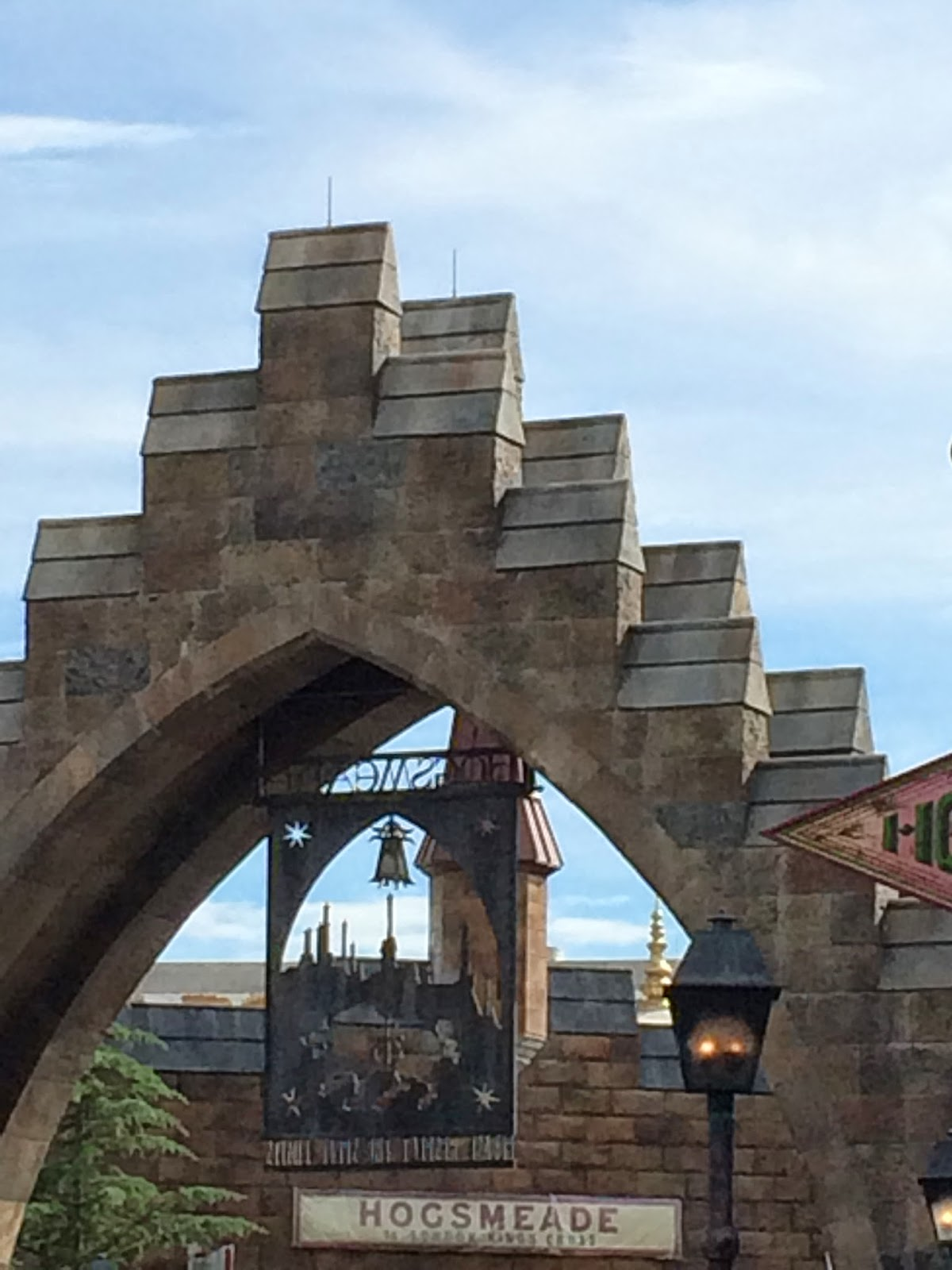 A view of Hogsmeade Station from inside the WWoHP