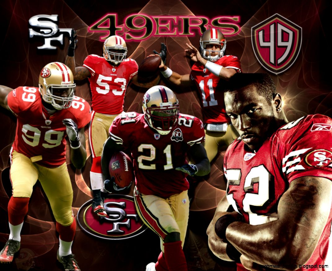 Wallpapers By Wicked Shadows San Francisco 49ers Team Wallpaper