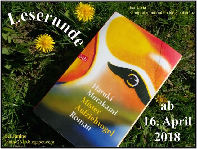 """Leserunde """"Mister Aufziehvogel"""""""