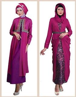 Memilih Model Baju Muslim Kebaya Lebaran