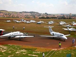 São Joaquim da Barra inaugura aeroporto para voos executivos.