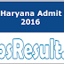 WCD Haryana Admit Card 2016 Download SW Hall Ticket at wcd.nic.in