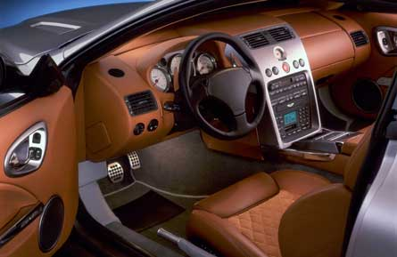 Aston Martin on Aston Martin Vanquish Interior Picture