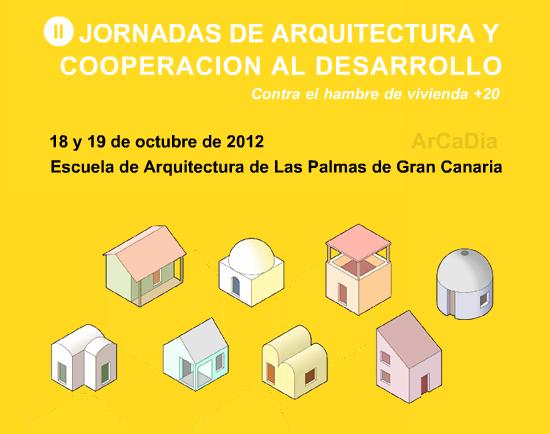 Base a arquitectura i cooperaci ii jornadas de Arquitectura de desarrollo