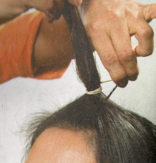 Como me corto el pelo sola escalonado