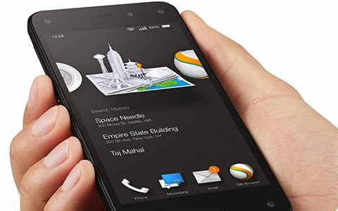 Harga Fitur Spesifikasi Amazon Fire Phone
