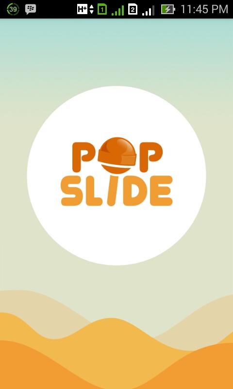 Daftar Pop Slide Android
