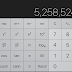 How to delete single digit on stock iOS calculator app