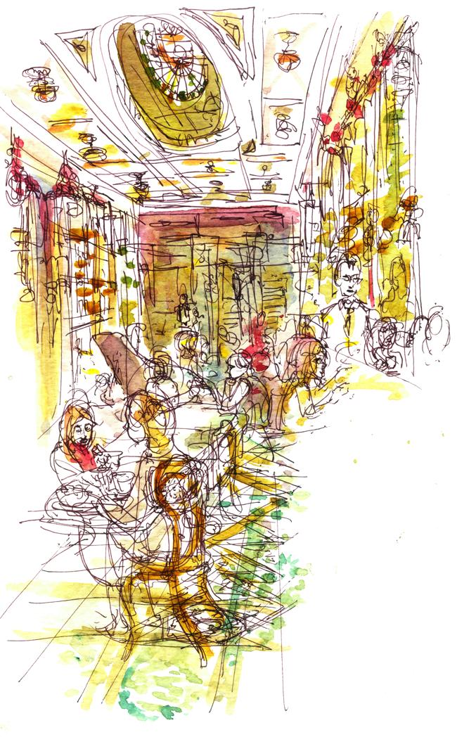 "Shiho Nakaza ""Rio de Janeiro"" Rio watercolor sketch sketching ""travel sketching"""