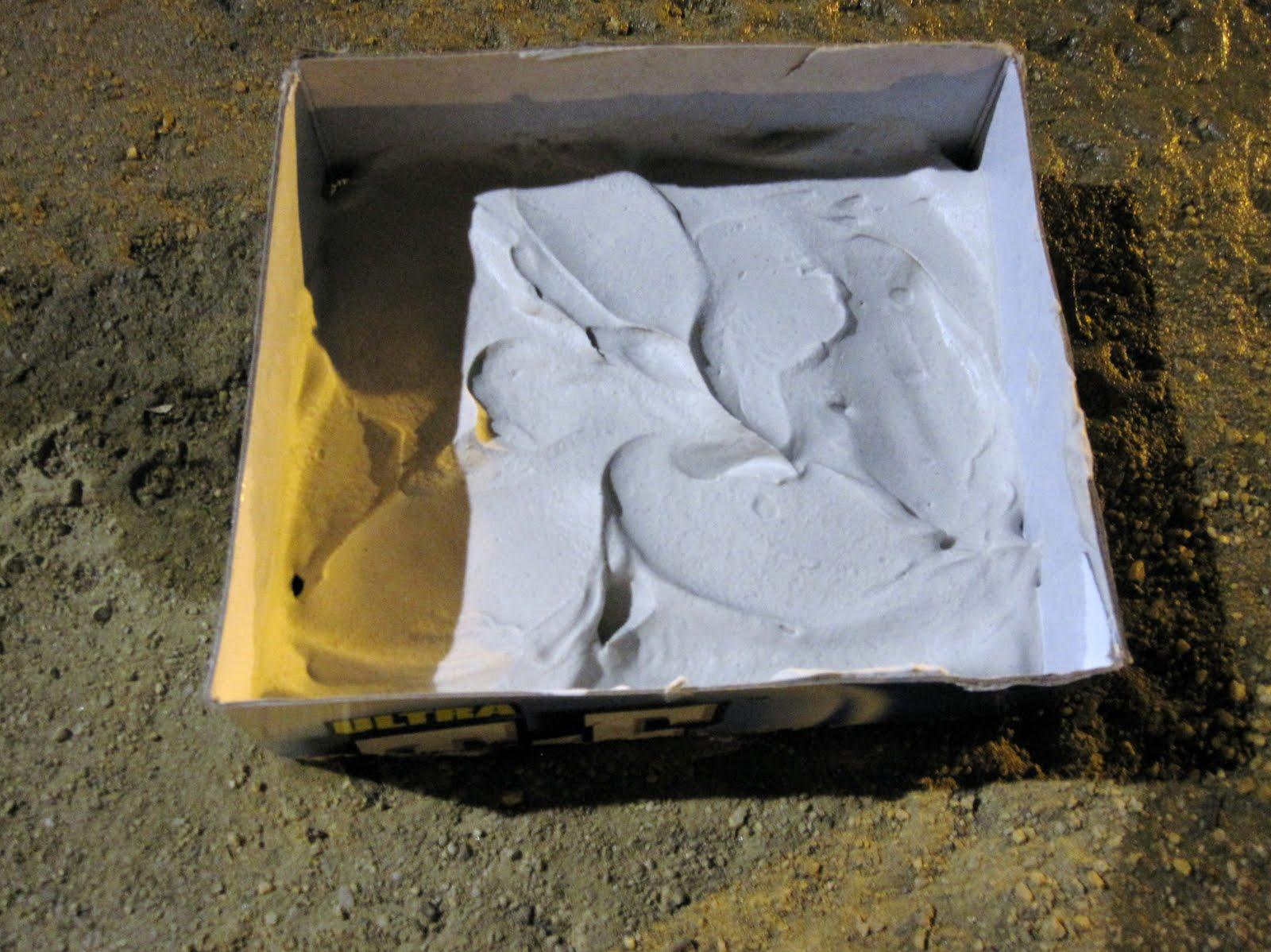Tire Plaster Castings : Fun science for girls plaster casts secrets of tracks