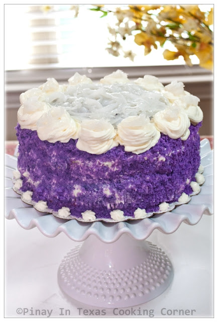Pinay In Texas Ube Cake