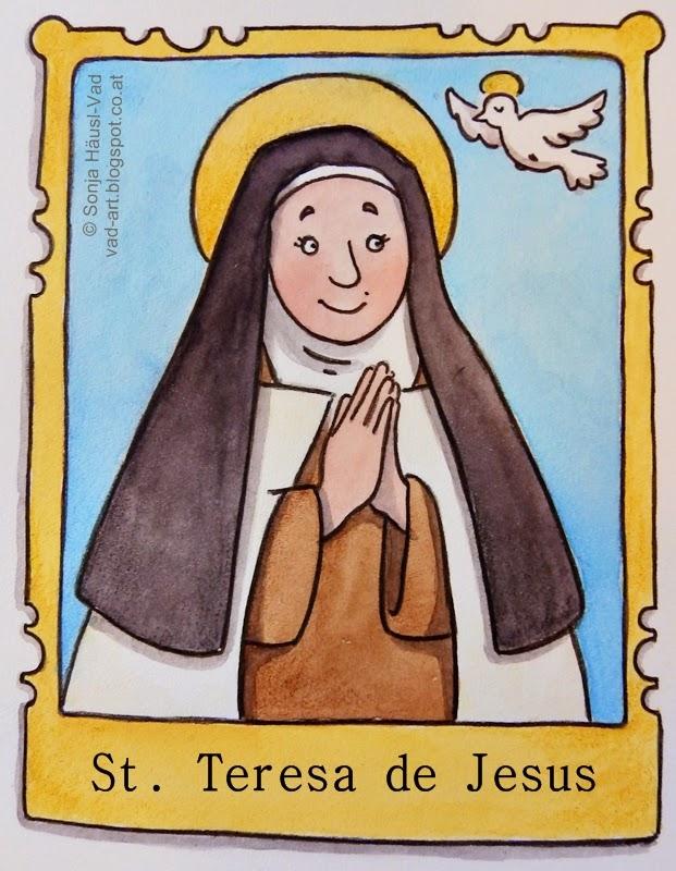 svatá Terezie od Ježíše z Avily